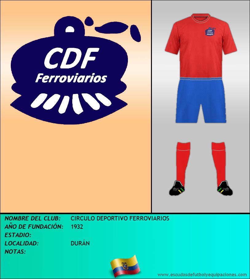 Escudo de CIRCULO DEPORTIVO FERROVIARIOS