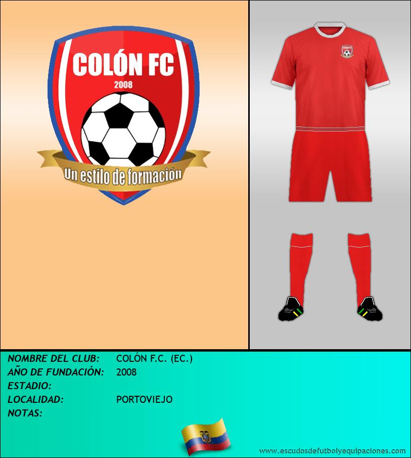 Escudo de COLÓN F.C. (EC.)
