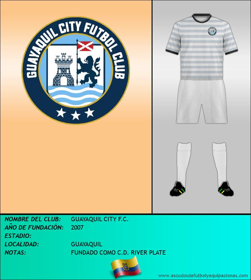 Escudo de GUAYAQUIL CITY F.C.