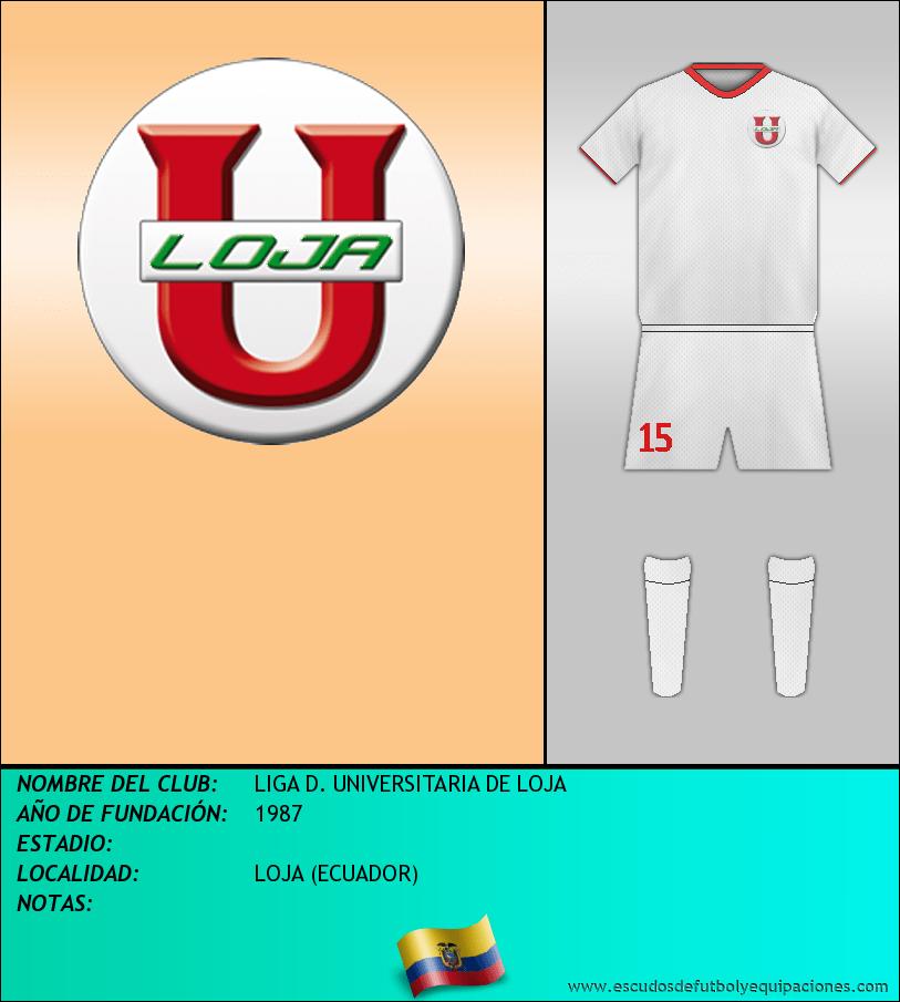 Escudo de LIGA D. UNIVERSITARIA DE LOJA