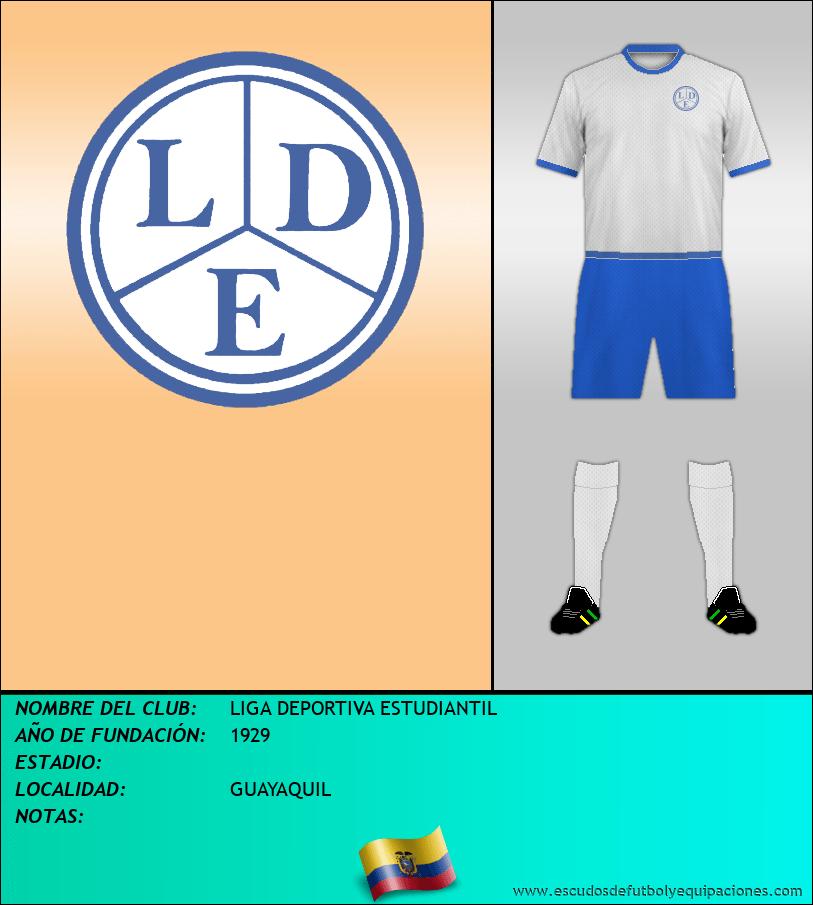 Escudo de LIGA DEPORTIVA ESTUDIANTIL