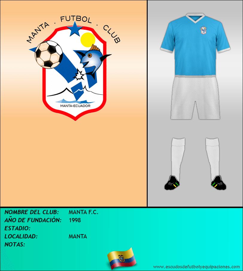 Escudo de MANTA F.C.