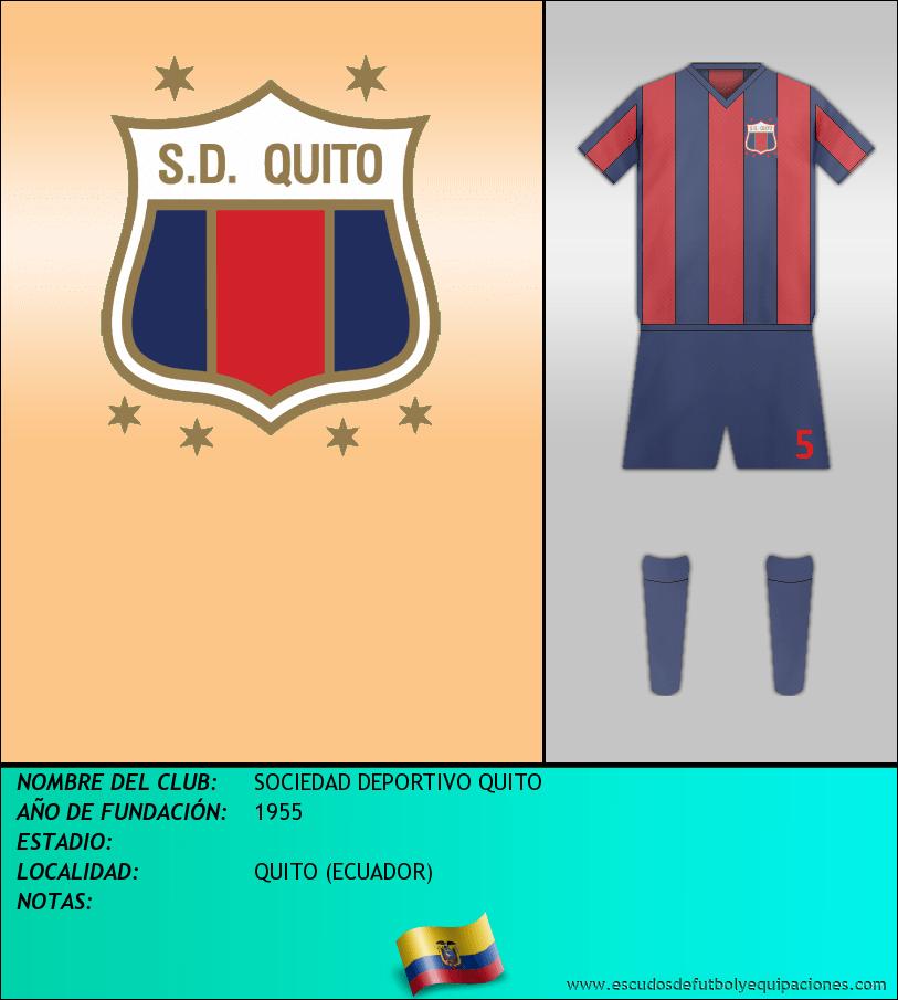 Escudo de SOCIEDAD DEPORTIVO QUITO