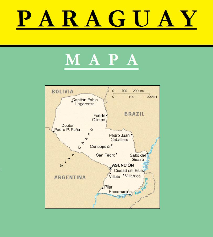 Escudo de MAPA DE PARAGUAY