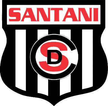 Escudo de C.D. SANTANÍ (PARAGUAY)