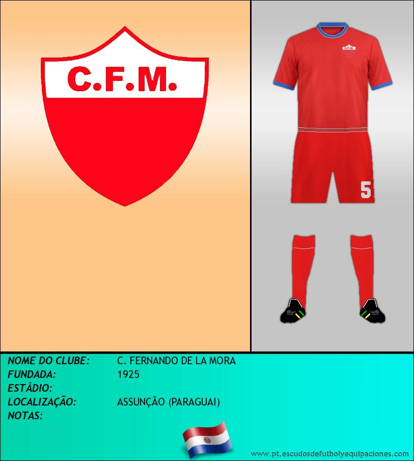 Escudo de C. FERNANDO DE LA MORA