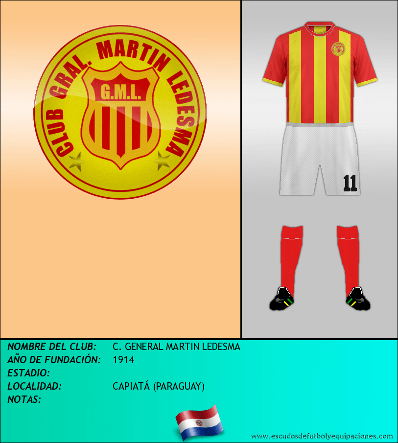 Escudo de C. GENERAL MARTIN LEDESMA