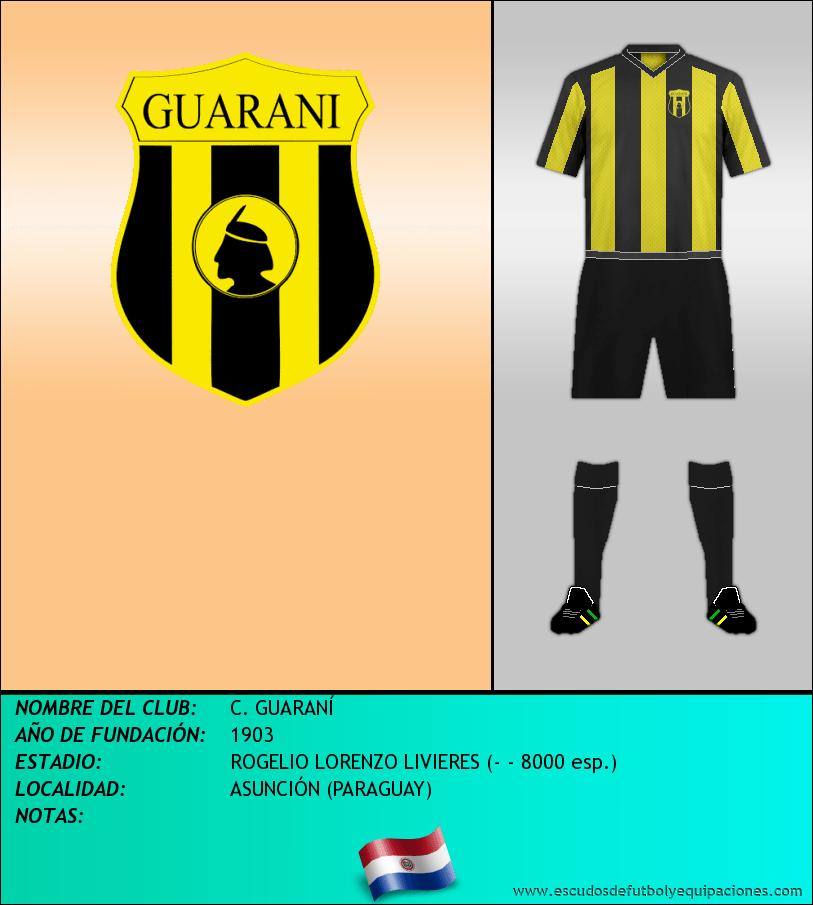 Escudo de C. GUARANÍ