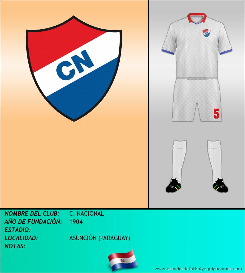 Escudo de C. NACIONAL