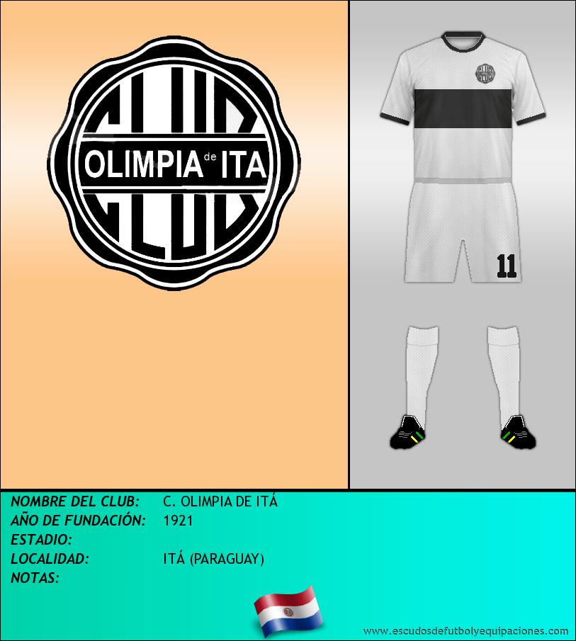 Escudo de C. OLIMPIA DE ITÁ