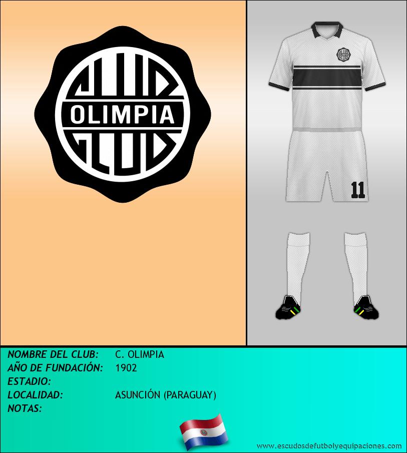 Escudo de C. OLIMPIA