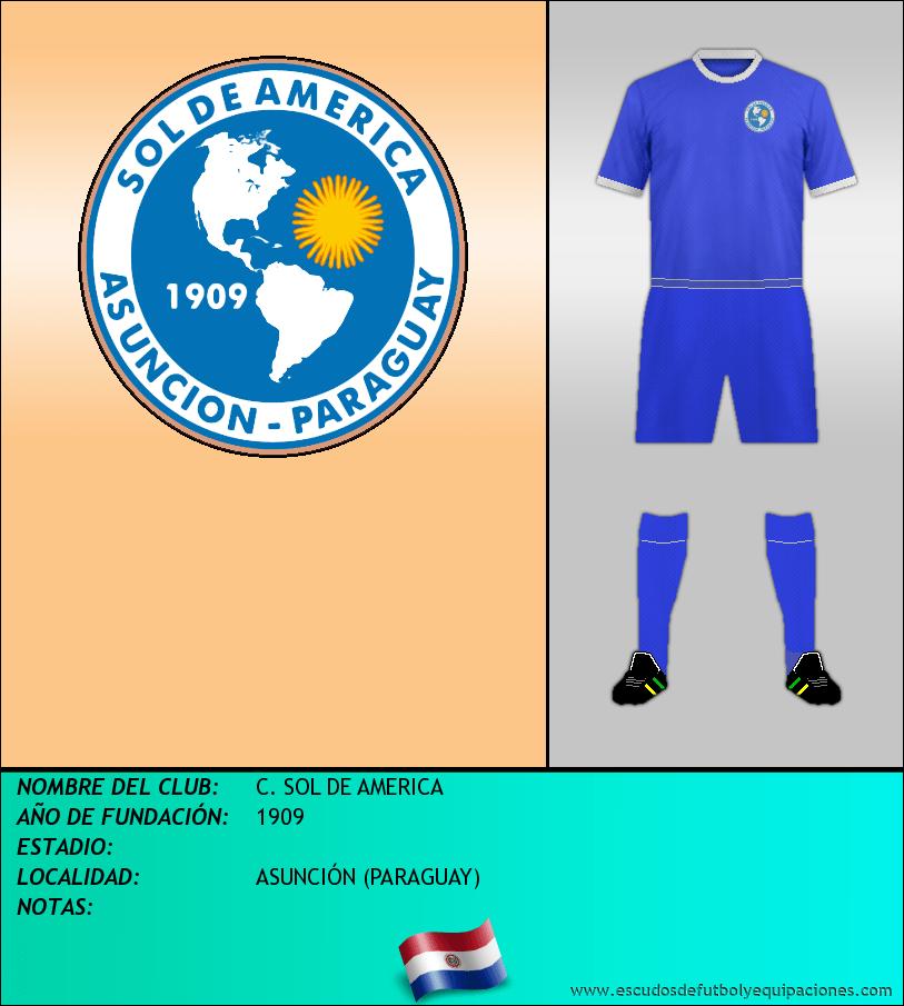 Escudo de C. SOL DE AMERICA