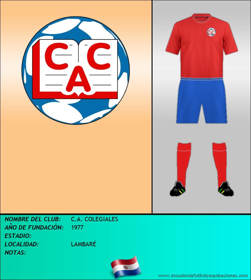 Escudo de C.A. COLEGIALES