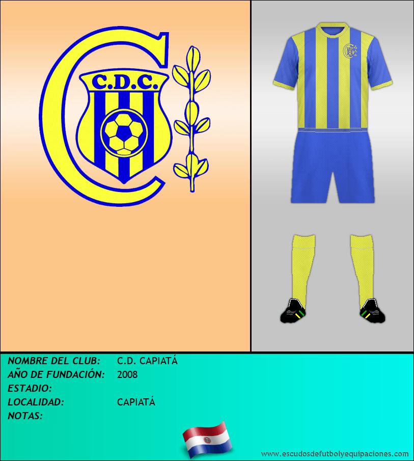 Escudo de C.D. CAPIATÁ