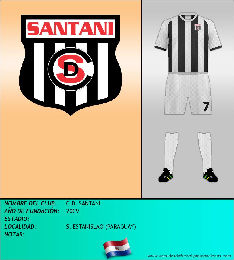 Escudo de C.D. SANTANÍ