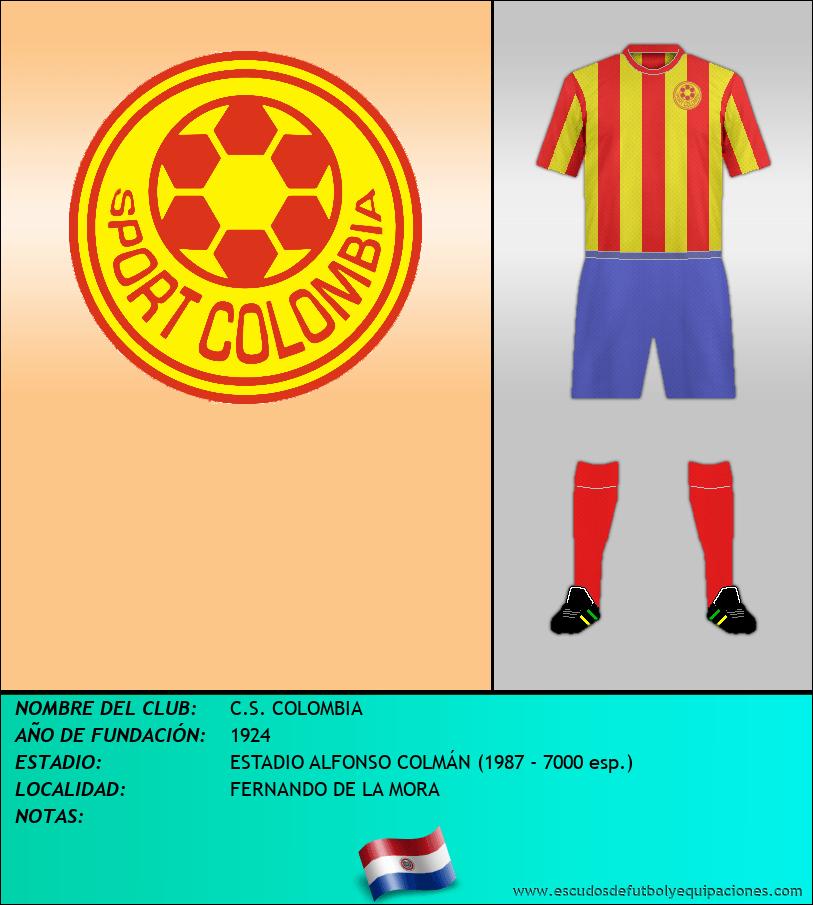 Escudo de C.S. COLOMBIA