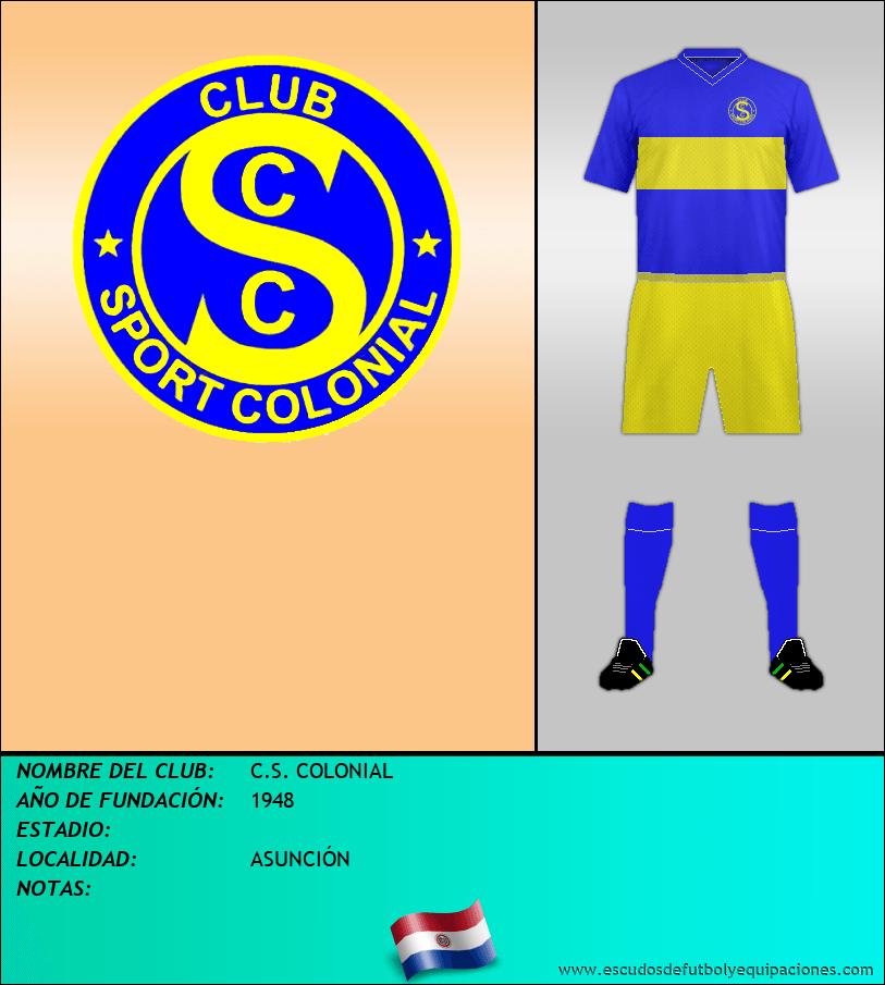 Escudo de C.S. COLONIAL
