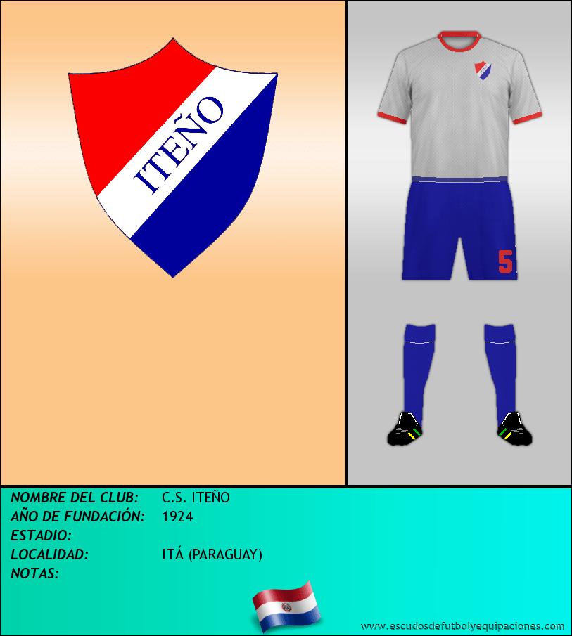 Escudo de C.S. ITEÑO