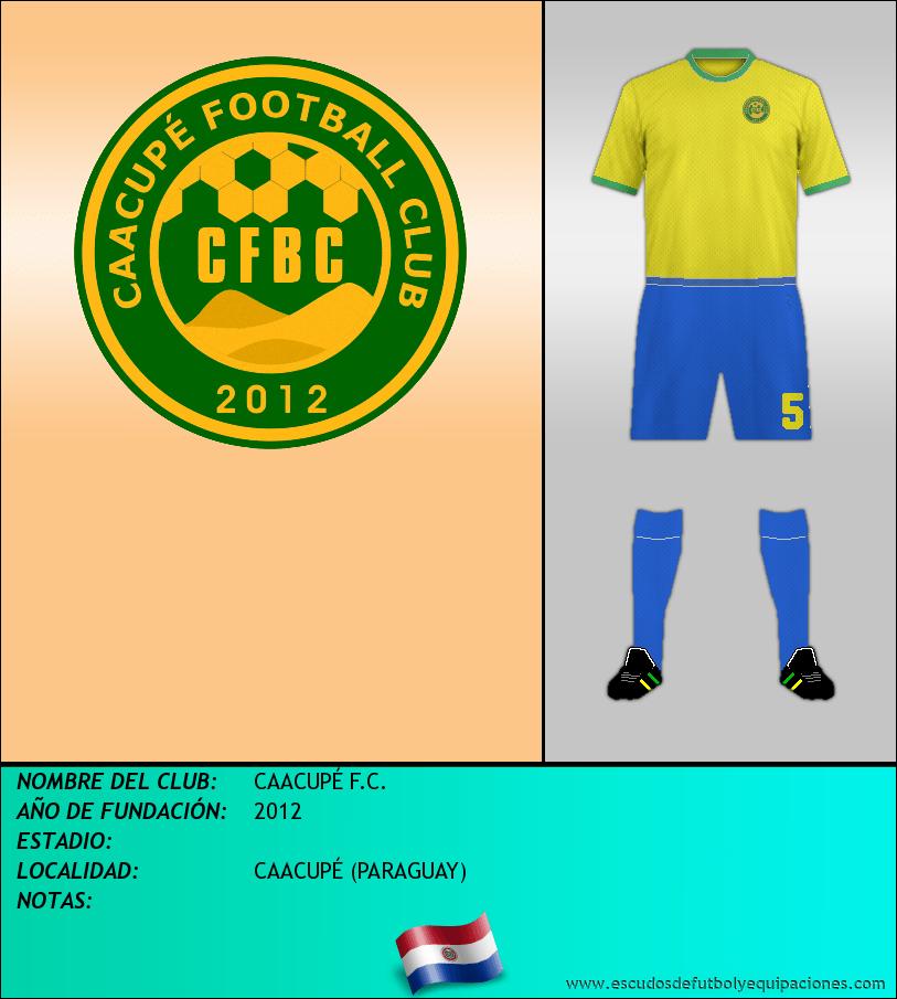 Escudo de CAACUPÉ F.C.