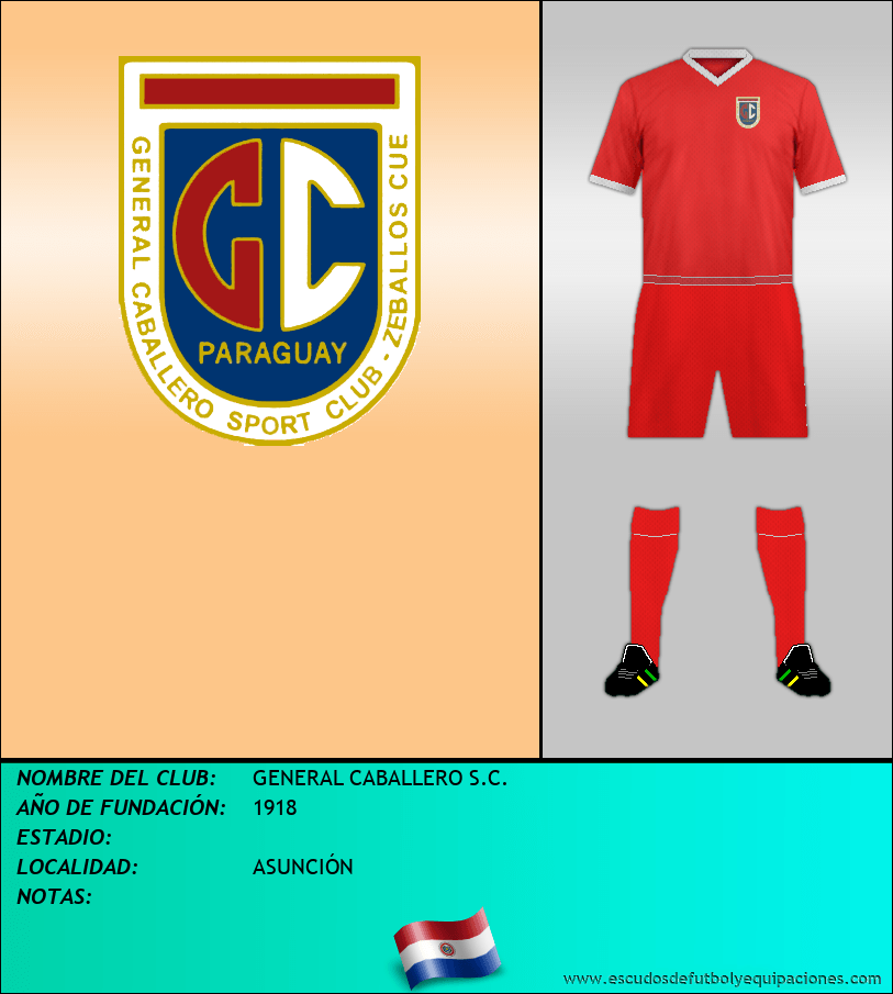 Escudo de GENERAL CABALLERO S.C.
