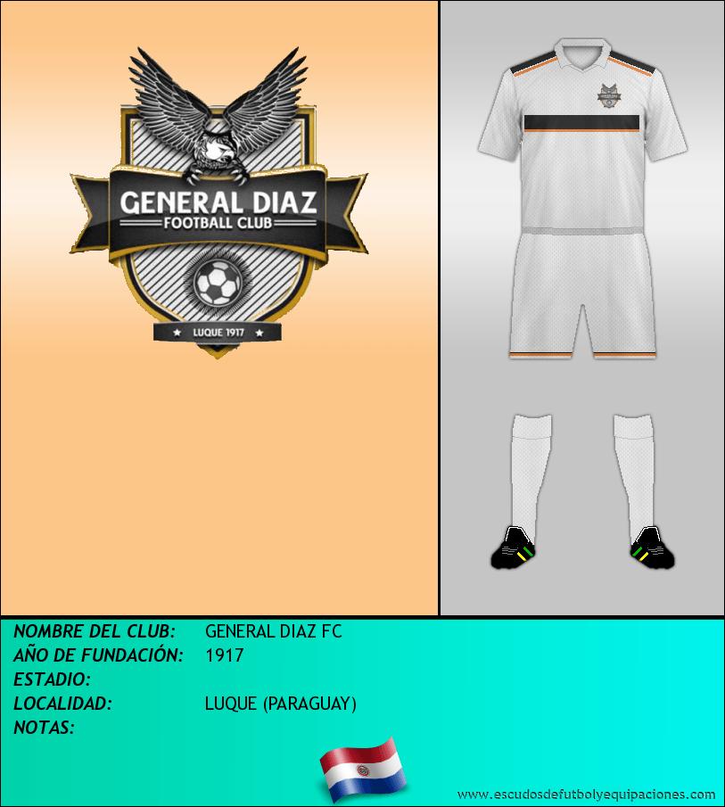 Escudo de GENERAL DIAZ FC