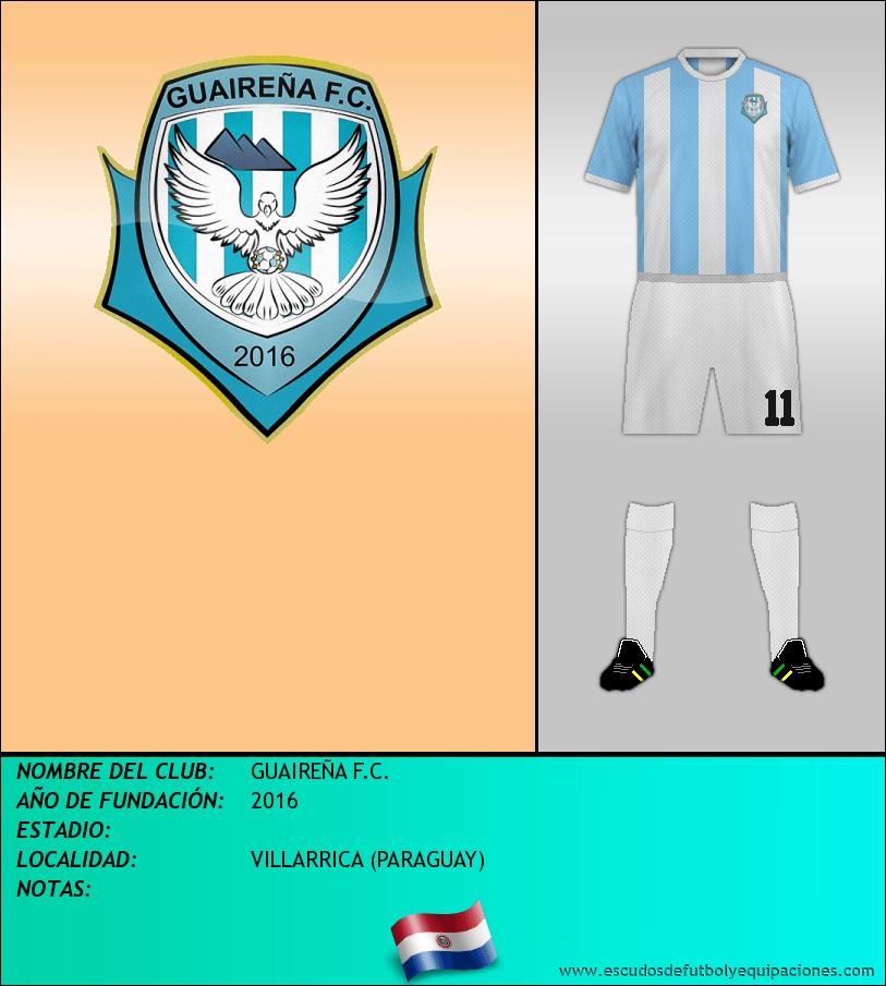 Escudo de GUAIREÑA F.C.