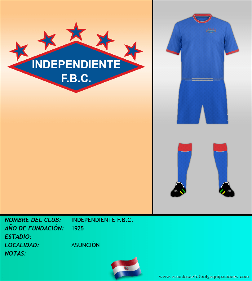 Escudo de INDEPENDIENTE F.B.C.