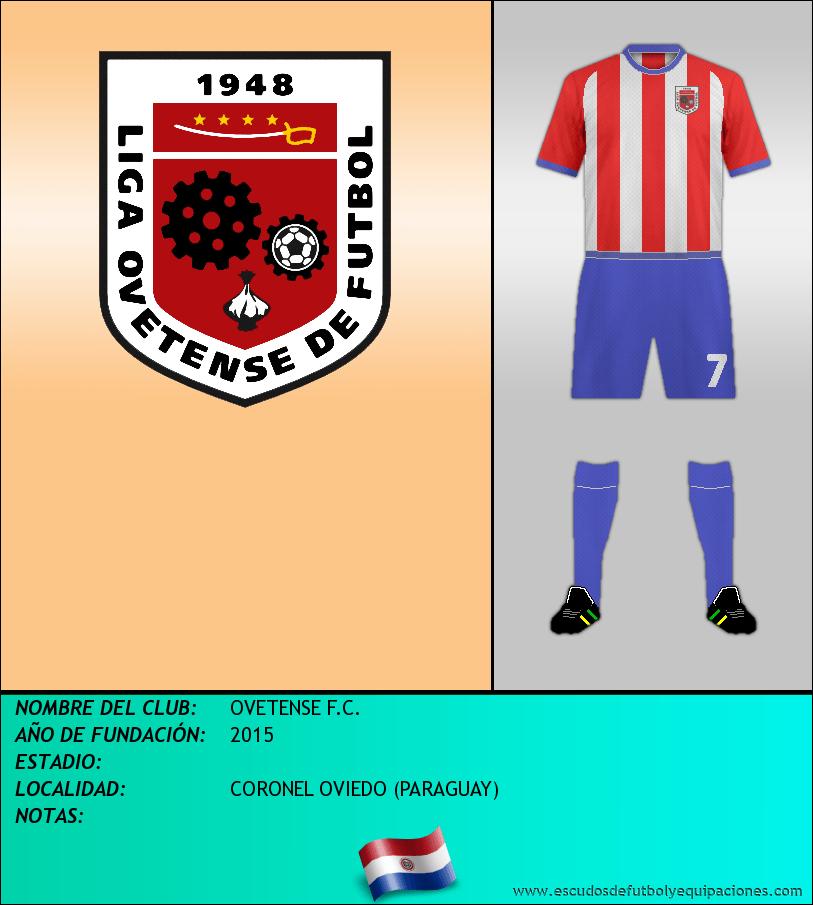 Escudo de OVETENSE F.C.