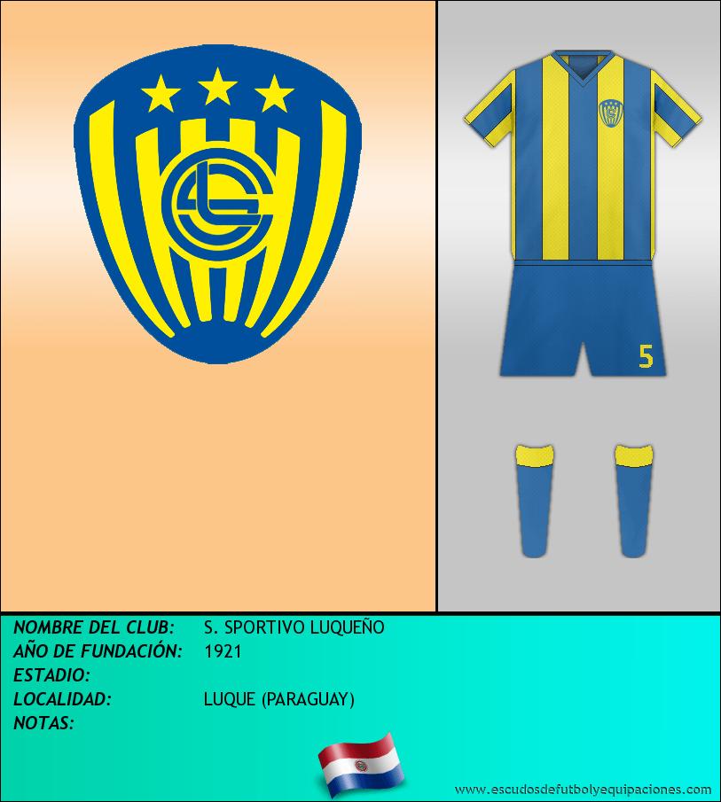 Escudo de S. SPORTIVO LUQUEÑO