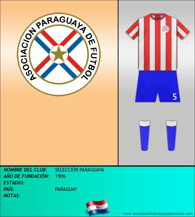 Escudo de SELECCIÓN PARAGUAYA