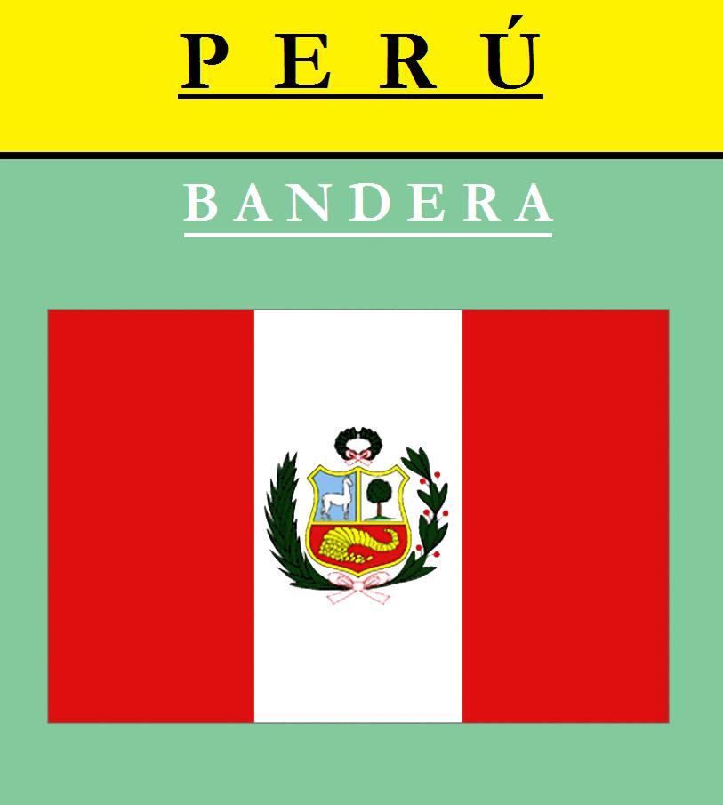 Escudo de BANDERA DE PERÚ