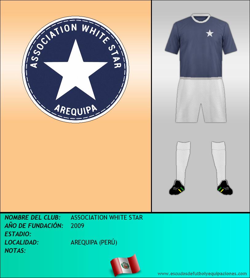 Escudo de ASSOCIATION WHITE STAR