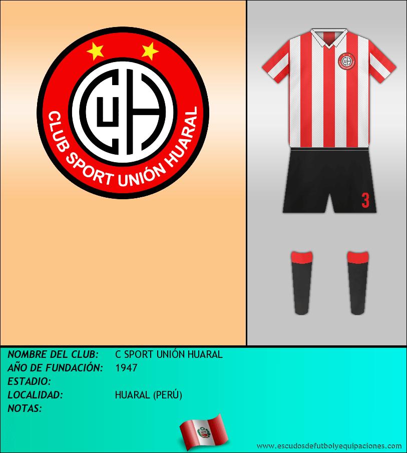 Escudo de C SPORT UNIÓN HUARAL