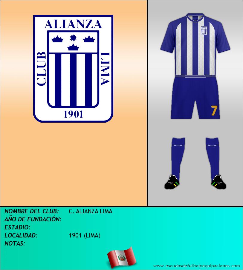Escudo de C. ALIANZA LIMA