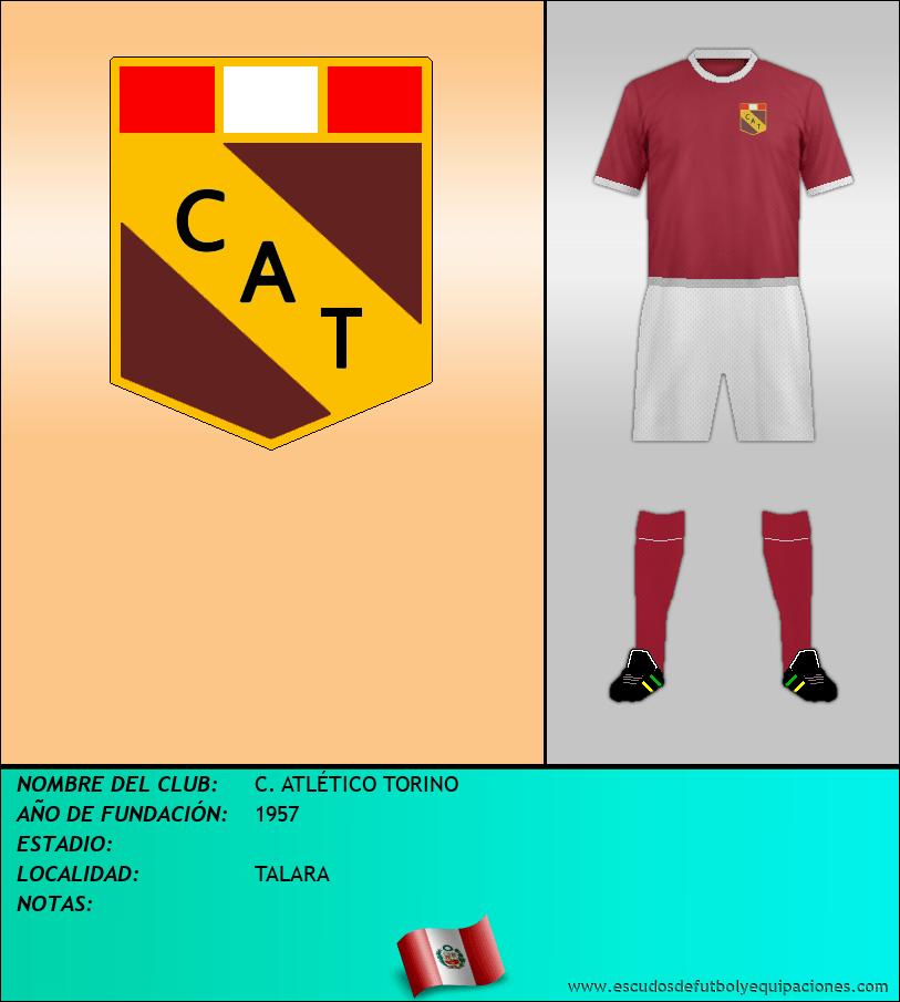 Escudo de C. ATLÉTICO TORINO