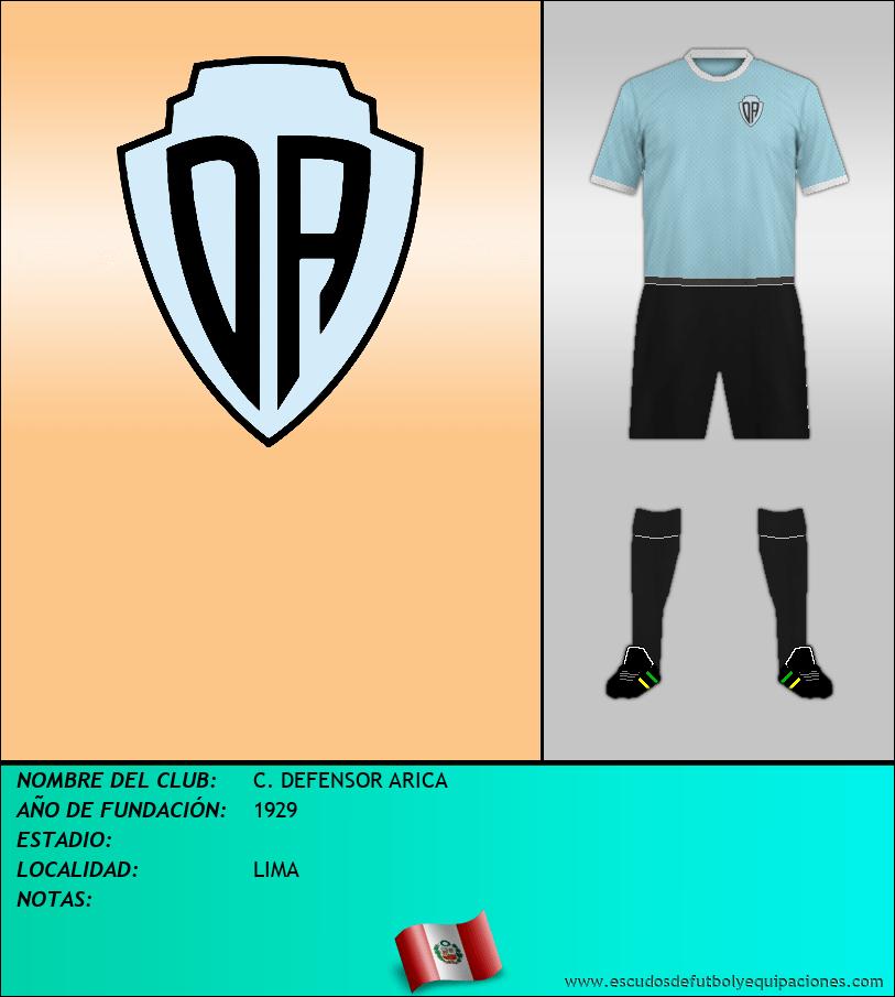 Escudo de C. DEFENSOR ARICA