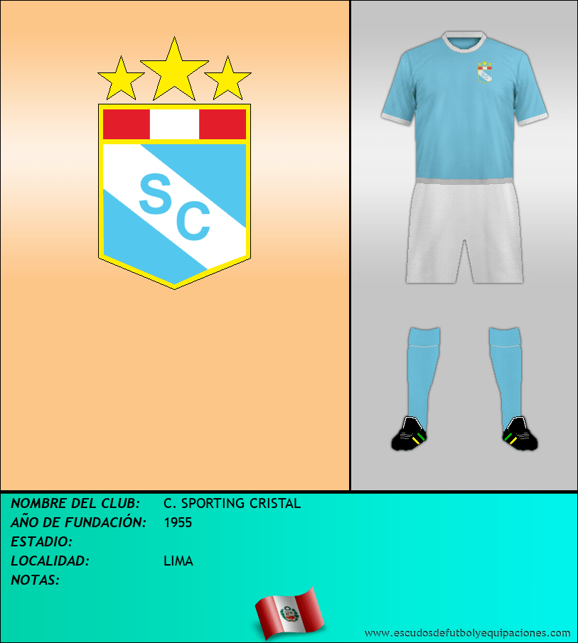 Escudo de C. SPORTING CRISTAL