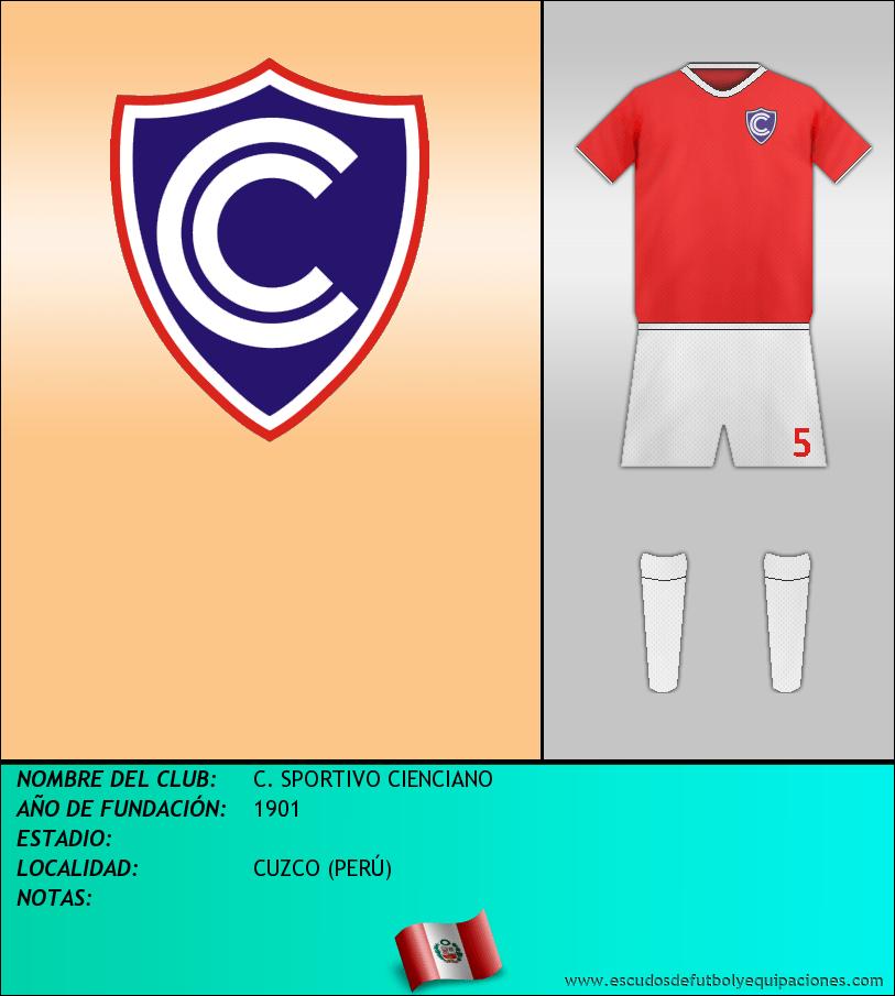 Escudo de C. SPORTIVO CIENCIANO
