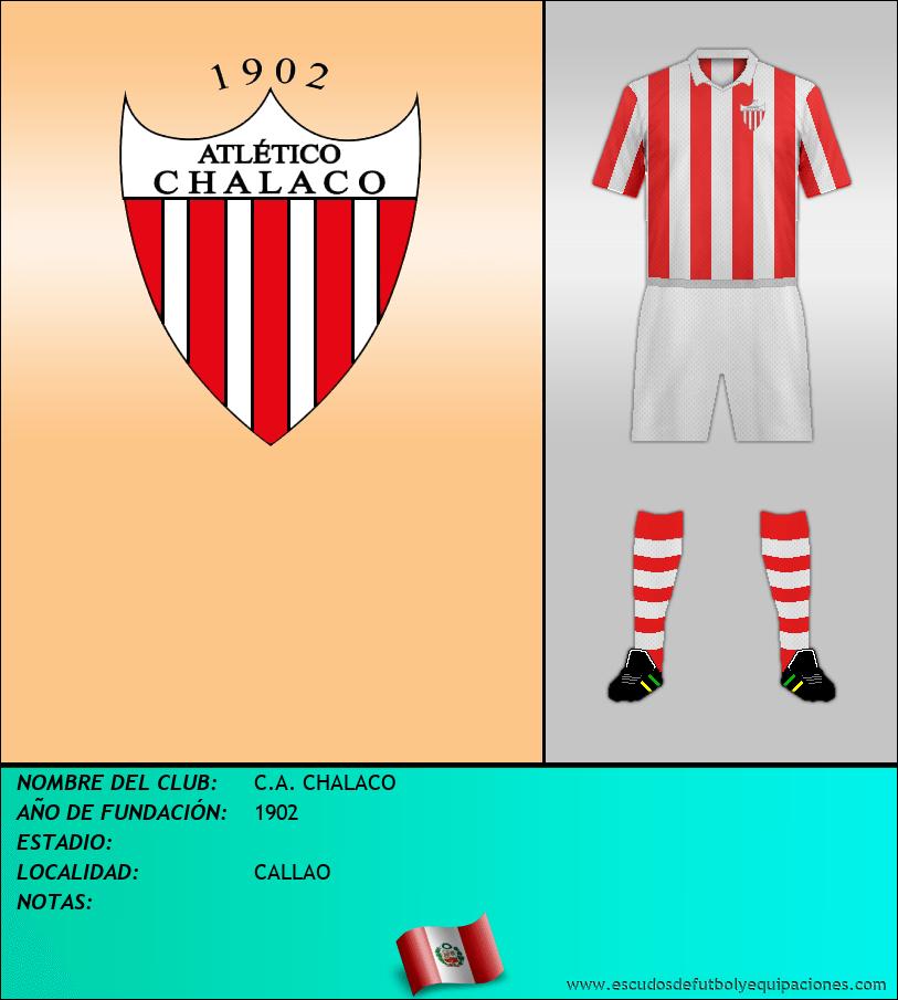 Escudo de C.A. CHALACO