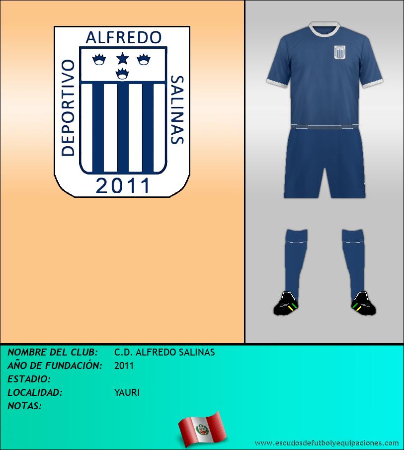 Escudo de C.D. ALFREDO SALINAS