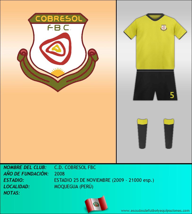 Escudo de C.D. COBRESOL FBC