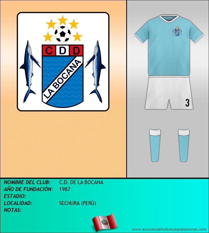 Escudo de C.D. DE LA BOCANA