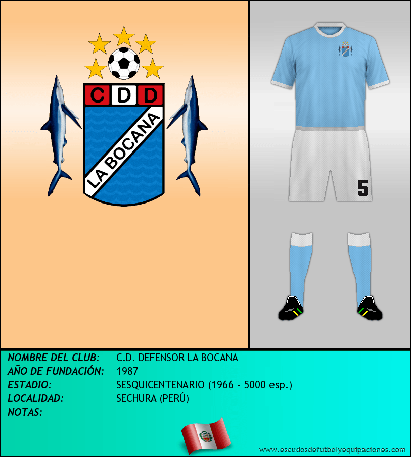 Escudo de C.D. DEFENSOR LA BOCANA