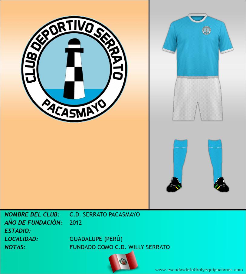 Escudo de C.D. SERRATO PACASMAYO