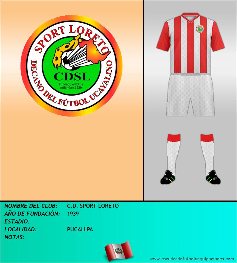 Escudo de C.D. SPORT LORETO