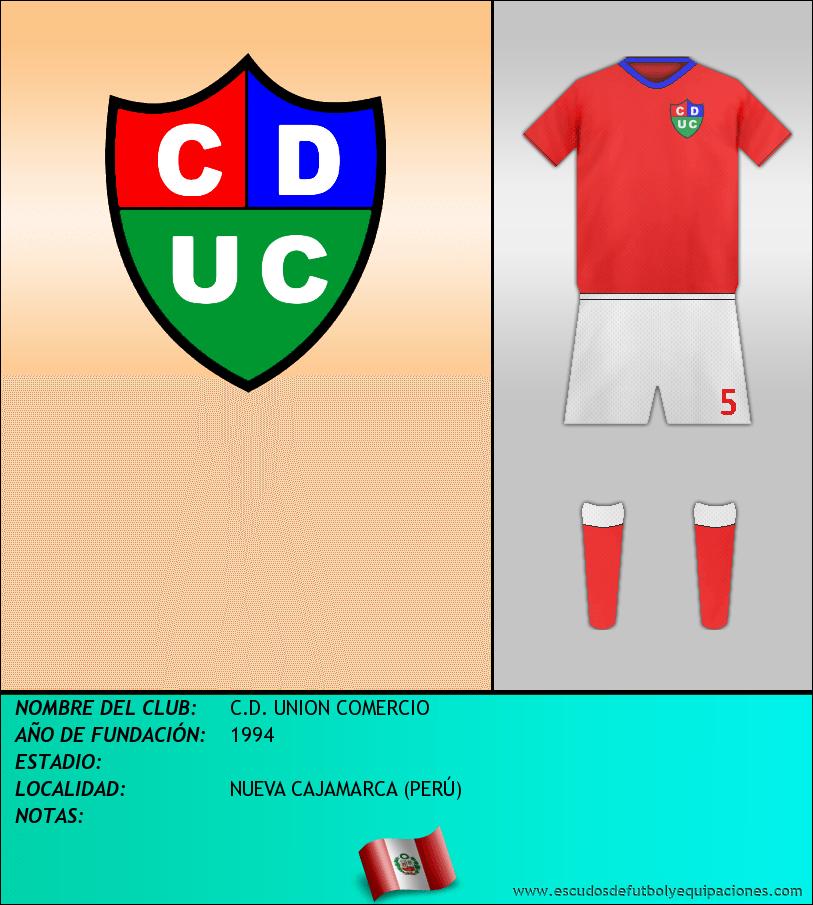 Escudo de C.D. UNION COMERCIO