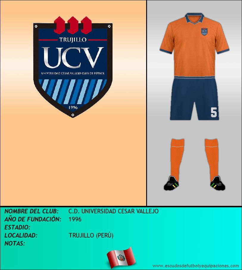 Escudo de C.D. UNIVERSIDAD CESAR VALLEJO