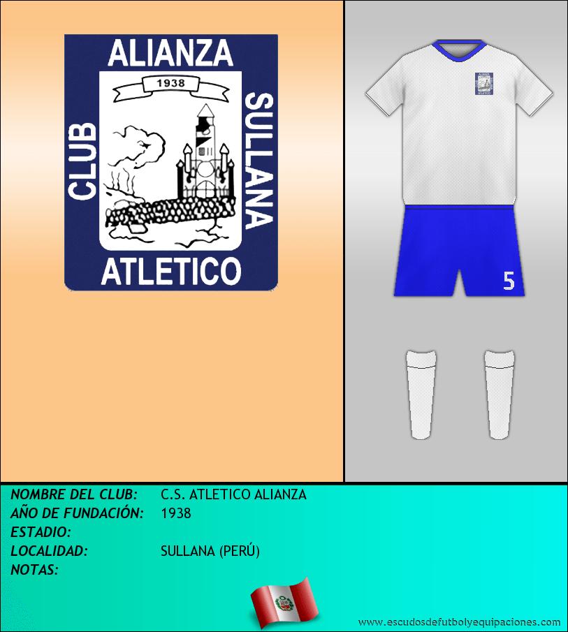 Escudo de C.S. ATLETICO ALIANZA