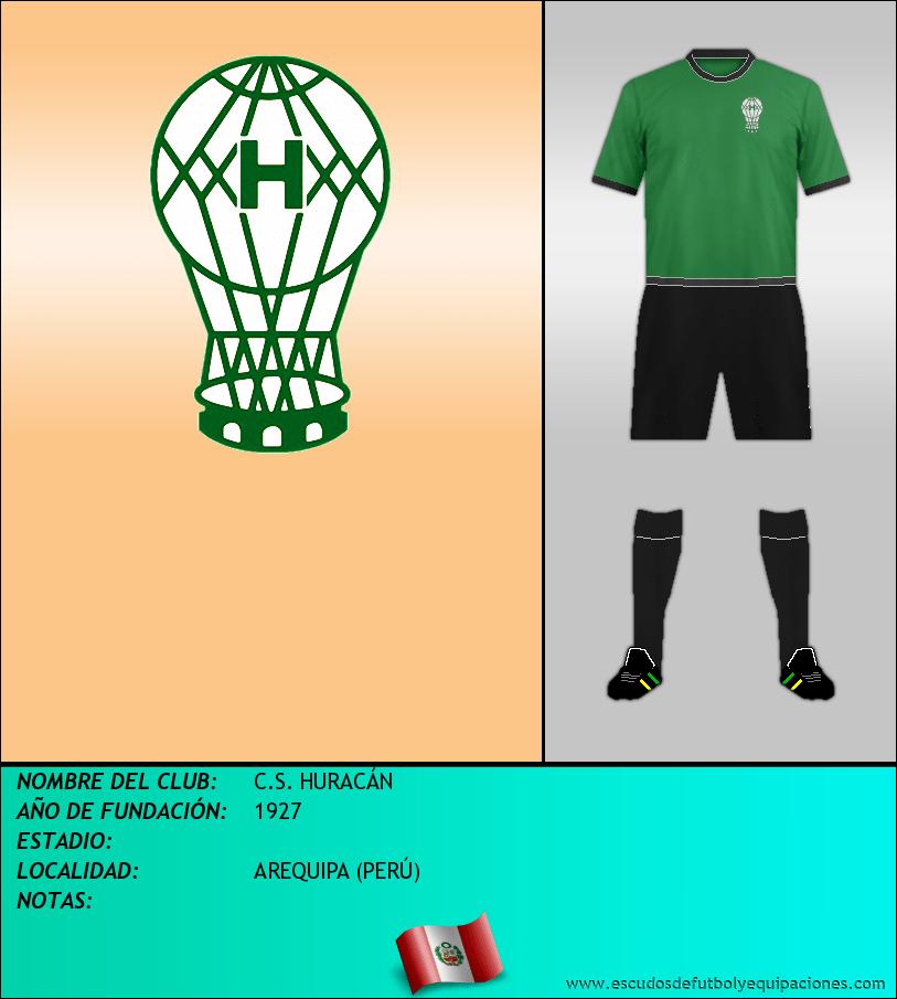 Escudo de C.S. HURACÁN