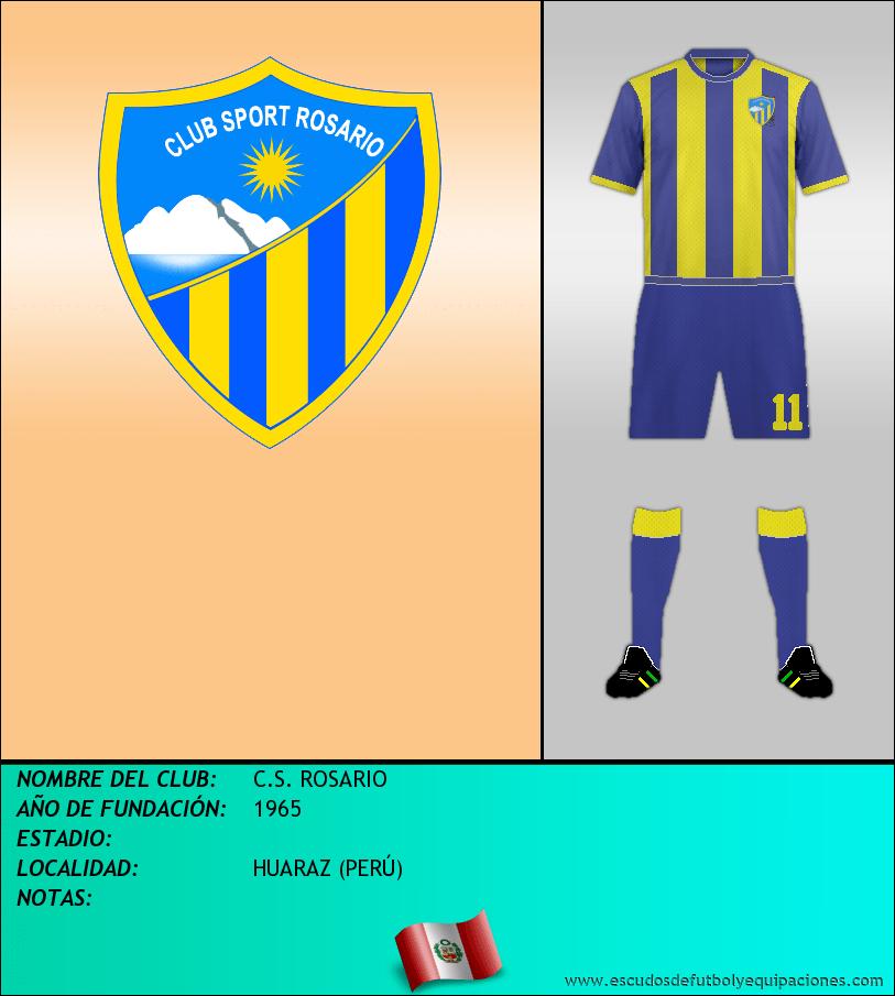 Escudo de C.S. ROSARIO